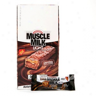 Cytosport Muscle Milk Light Bars, Chocolate Peanut Caramel