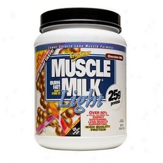 Cytosport Muscle Milk Light Protein Powder, Chocolate Milk