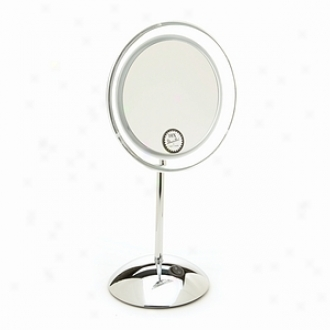 Danielle Dome Base L.e.d. Vanity Mirror 10x Magnification