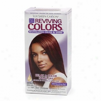Dark And Lovely Relax & Color Same Day Semi-permanent Haircolor, 394 Ravishing Red