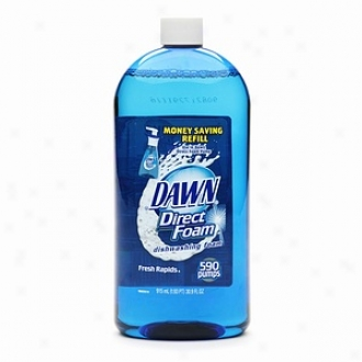 Dawn Direct Dishwashing Foam Refill, Fresh Rapids Scent