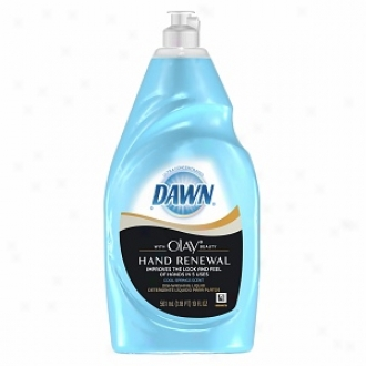Dawn Ultra Hand Renewal Dishwashing Liquid, Cool Springs