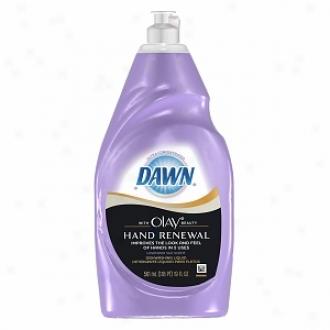 Dawn Ultra Hand Renewal Upon Olay Beauty Dishwashing Liquid, Lavender Silk