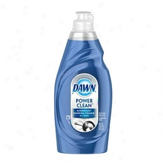 Dawn Ultra Power Clean Dishwashing Liquid, Refreshing Rain