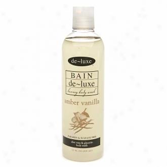 De-luxe Bain Body Wash, Amber Vanilla