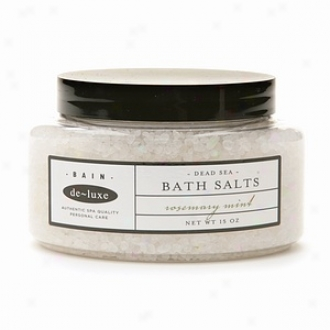 De-lxe Bain Dead Sea Bath Salts, Rosemary Mint