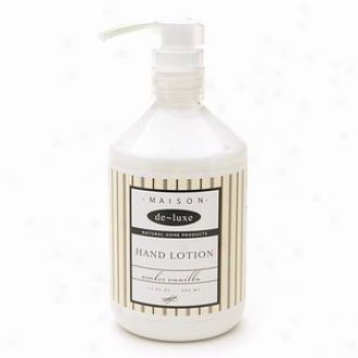 De-luxe Maison Hand Loion, Amber Vanilla