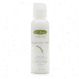 De-luxe Travel Size Conditioner, Rosemary Mint