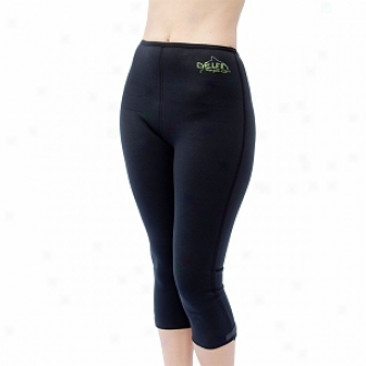 Delfin Spa Bio Ceramic Anti Cellulitw Capris, Extra Small