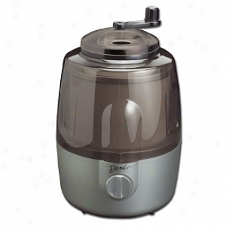 Deni Automatic Ice Cream Maker With Candy Crusher, Platinum