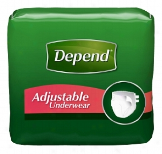 Depend Adjustable Underwear, Maximum Absorbency, L/xl