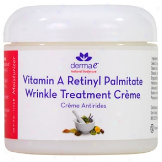 Derma E Vitamin A Retinyl Palmitate Wrinkle Treatment Creme