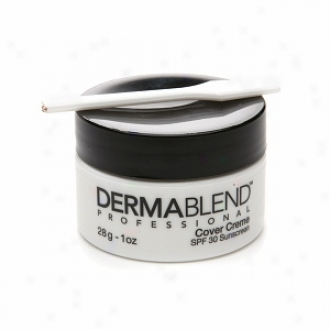 Dermablend Cover Cr??me With Spf 30 Sunscreen, Chroma 7 - Deep Brown