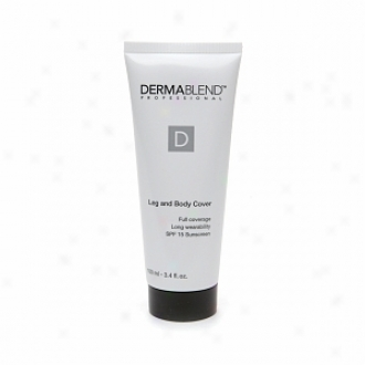 Dermablend Leg And Carcass Underwood With Spf 15 Sunscreen, Ivory