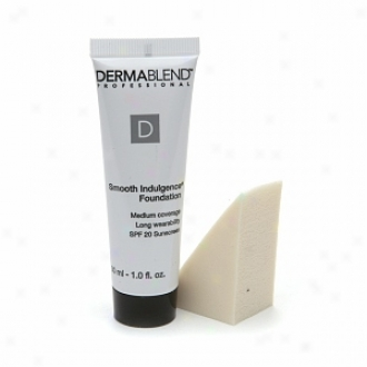Dermablend Smooth Indulgence Foundation Witg Spf 20 Sunscreen, Suede