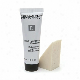 Dermablend Smooth Indulgence Foundation With Spf 20 Sunscreen, Caramel Beige