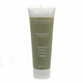 Dermanew Microdermabrasion Polishing Body Wash,  Normal