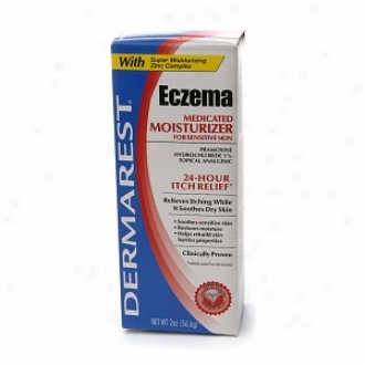 Dermarest Eczema Medicated Moisturizer, For Sensitive Skin