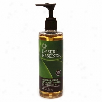 Desert Essence Thoroughly Clean Confront Wash With Organic Tea Tree Oil Ajd Awapuhi