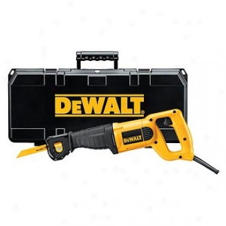 Dewalt 10 Amp Heavy-duty Reciprocating Saw Kit Dw304pk