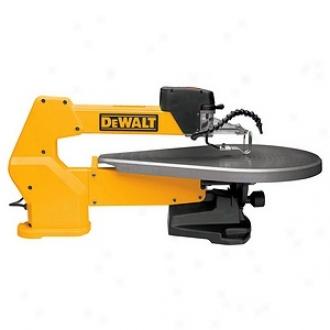 Dewalt 20  Heavy-duty Varkable-speed Scroll Saw Dw788