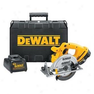 Dewalt 6-1/2  18 Volt Heavy-duty Xrp Cordless Circular Saw Kit Dc39