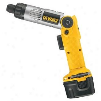 Dewalt 7.2 Volt Heavy-duty Cordless 2-position Screwdriver Kit Dw920