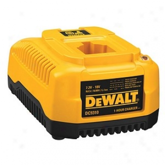 Dewalt 7.2 Volt To 18 Volt Heavy Duty 1 Hour Charger Dc9310