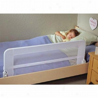 Dex Products Universal Safe Sleeper Bed Rail High Hinge, White