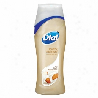 Dial Healthy Moisture Restoring Body Wash, Soy & Almond Milk