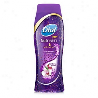 Dial Nutriskin Bodywash With Fruit Oil, Goji Berry And Orchid
