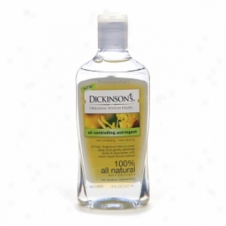 Dickinson's Oil Controlling Astringent With Witch Hazel Flower Extract
