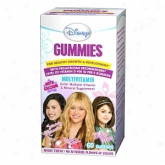 Disney Gummies Children's Multivitamin, Hannah Montsna