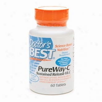 Doctor's Best Pureway-c Sustained Release Vitamin C, Tablets