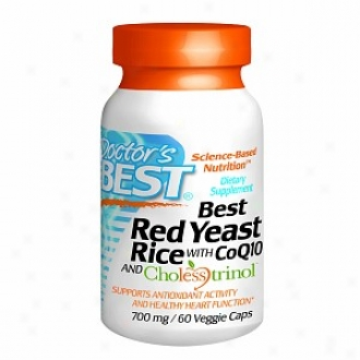Docfor's With most propriety Red Yeast Rice 700 With Coq10, Veggie Caps