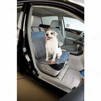 Dog About Quick-fit Bucket Seat Cover, Steel, Slate And Ingot