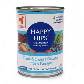 Dogswell Happy Hips Canned Dog Food, Duck & Sweet Potato