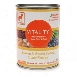 Dogswell Vitality Canned Dog Food, Chicken & Sweet Potato