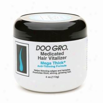 Doo Gro Medicated Hair Vitalizer, Mega Thick Anti-thinning Formula