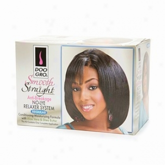 Doo Gro Smooth & Straight Anti-breakage No-lye Relaxer System, Regular