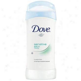 Dove Antiperspirant & Deodorant Invisible Solid, Unscented For Sensitive Skin