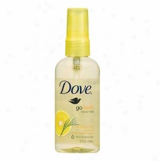 Dove Go Fresh Body Mist, Energizing: Grapefruit & Lemongrass