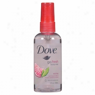 Dove Go Fresh Body Obscurity, Revive: Pomegranate & Lemon Ver6ena