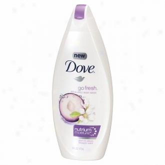 Dove Go Fresh Rebalance Body Wash With Nutriummoisture, Handsome sum & Sakura Blossom