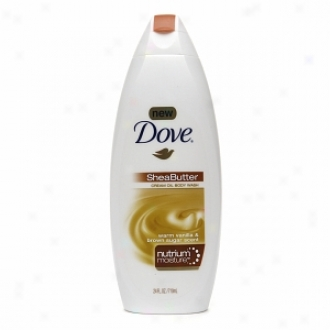Dove Nhtrium Moisture Shea Butter Choice part Oil Body Wash, Warm Vanilla & Brown Sugar Scent