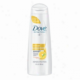 Dove Therapy Go Fresh Therapy Shampoo, Energize Grapefruit & Lemongrass Scent