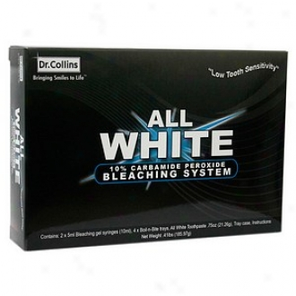 Dr. Collins All White 10% Carbamide Peroxide Bleaching System
