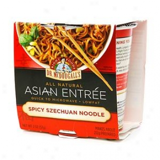 Dr. Mcdougall's All Natural Asian Entree, Spicy Szechuan Noodle