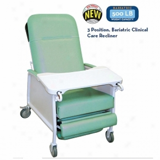 Drive Medical 3 Position Hard to digest Duty Bariatric Geri Chair Recliner Jade