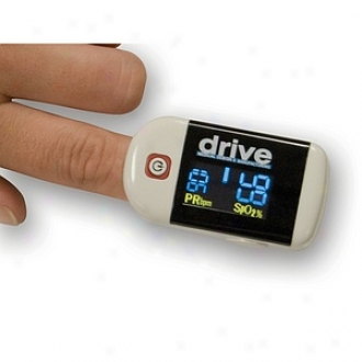 Driv3 Medicinal Clip Style Fingertip Legumes Oximeter With Dual Vieww Lcd